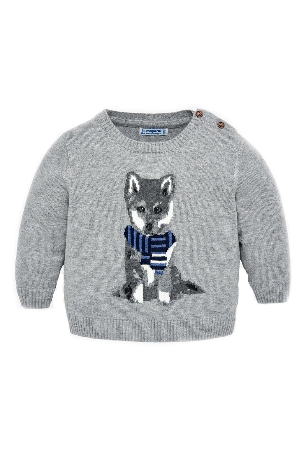 Mayoral Baby-Boy-Fox-Sweater - Main Image
