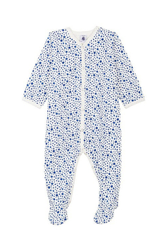 Shoptiques Product: BABY BOY FRONT SNAP STAR PRINT FOOTIE