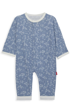 Magnetic Me Sky Bunny Magnetic Coverall - Product List Image