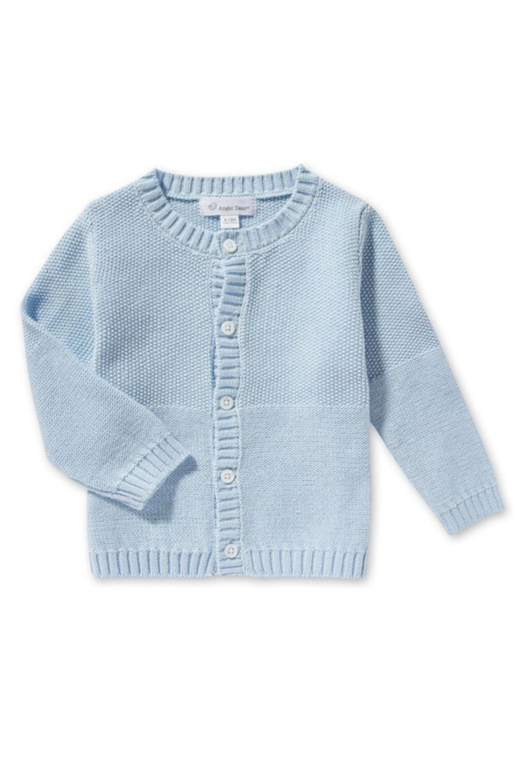 Angel Dear Baby Boy Seed Sweater - Front Cropped Image