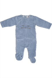 Pounds and Ounces Baby Boy Strechie - Front cropped