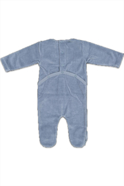 Pounds and Ounces Baby Boy Strechie - Front full body