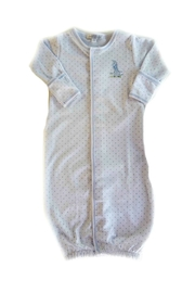 Magnolia Baby Baby-Boy Vintage-Giraffe Convertible-Gown - Front cropped