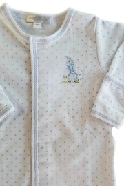 Magnolia Baby Baby-Boy Vintage-Giraffe Convertible-Gown - Front full body