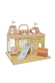 Calico Critters Baby Castle Nursery - Front cropped