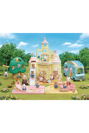 Calico Critters Baby Castle Nursery - Front full body