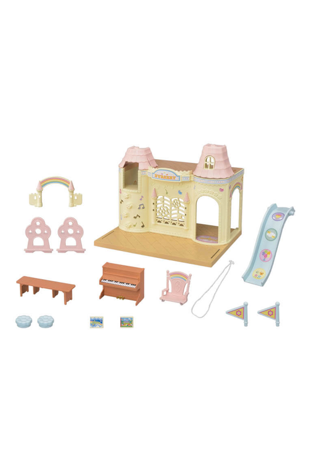 Calico Critters Baby Castle Nursery - Side Cropped Image