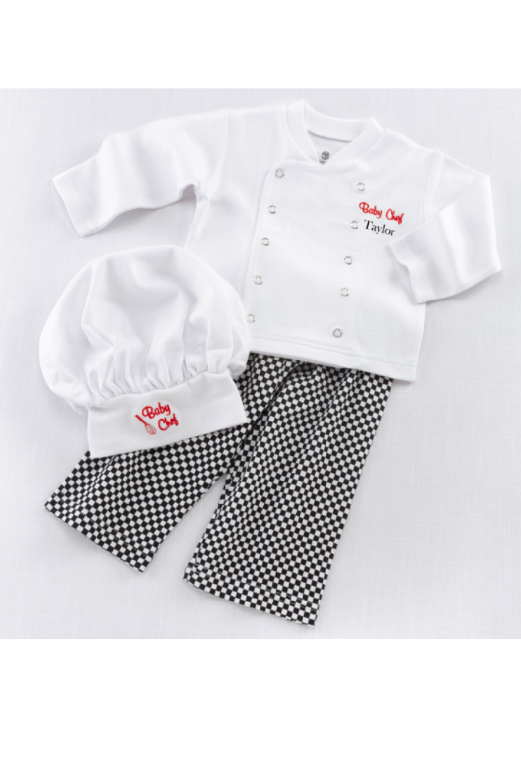 Baby Aspen Baby Chef Outfit - Side Cropped Image