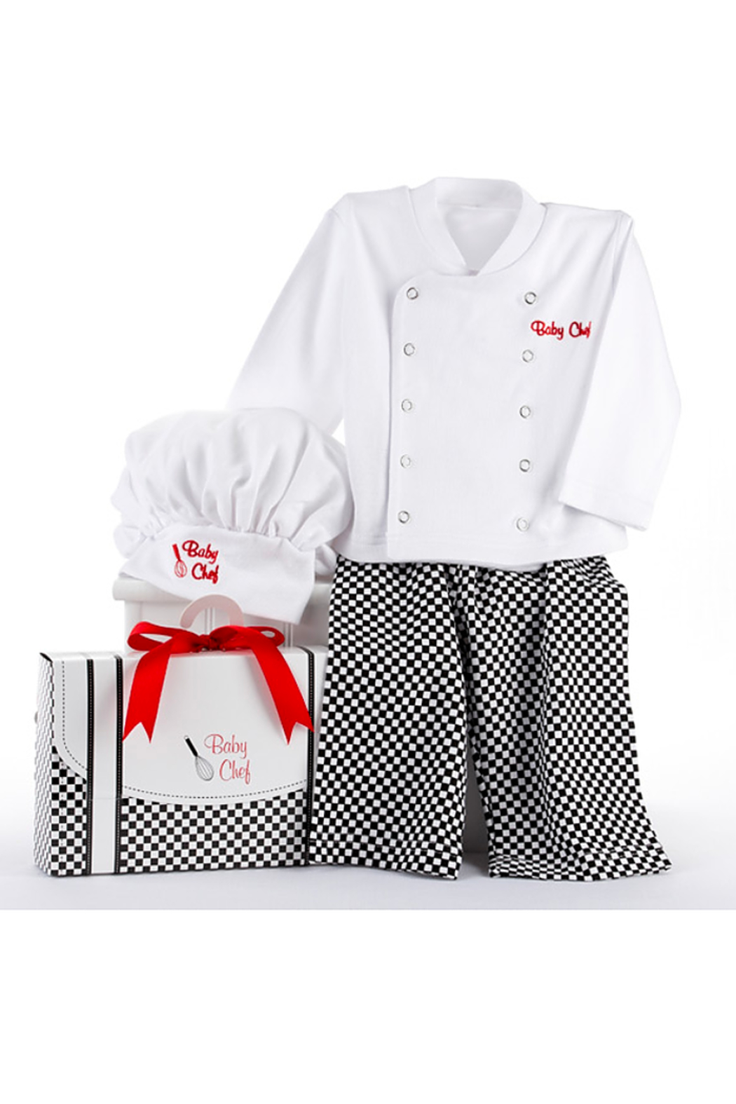 Baby Aspen Baby Chef Outfit - Front Full Image