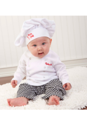 Baby Aspen Baby Chef Outfit - Front cropped