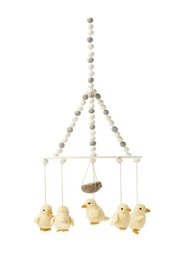 Pehr Designs Baby Chick Mobile - Front cropped