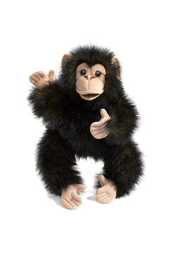 Folkmanis Baby Chimpanzee Puppet - Product List Image