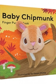 Chronicle Books Baby Chipmunk Book - Front cropped