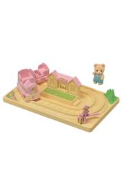 Calico Critters Baby Choo Choo Train - Front cropped