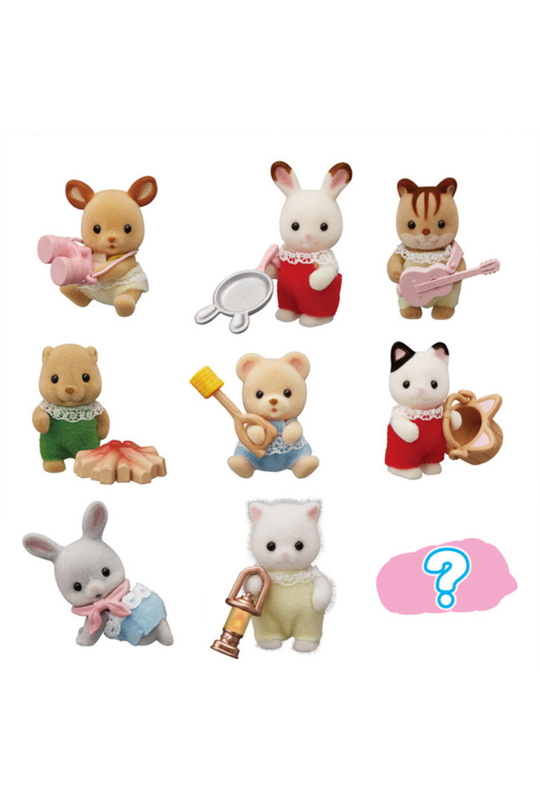 Calico Critters Baby Colleectibles - Baby Camping Series - Main Image