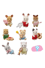 Calico Critters Baby Colleectibles - Baby Camping Series - Front cropped