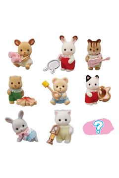 Calico Critters Baby Colleectibles - Baby Camping Series - Alternate List Image