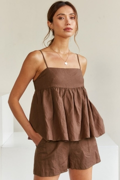 Fashion District Baby Doll Cami Short Set - Product List Image