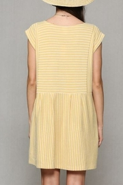 By Together  Baby doll Dress with pockets - Back cropped