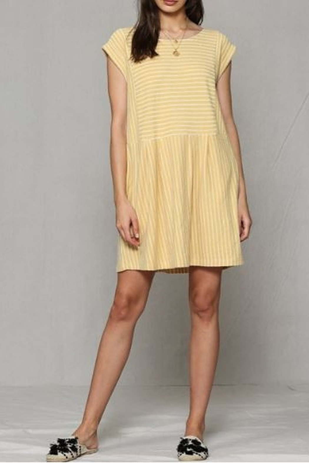 By Together  Baby doll Dress with pockets - Main Image