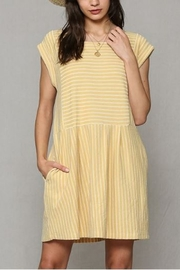By Together  Baby doll Dress with pockets - Front full body