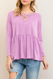 Entro Baby Doll Top - Product Mini Image