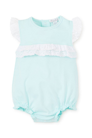 Kissy Kissy Baby Eyelet Bubble - Front cropped