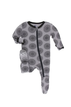 Shoptiques Product: Baby Feather-Mandala Footie