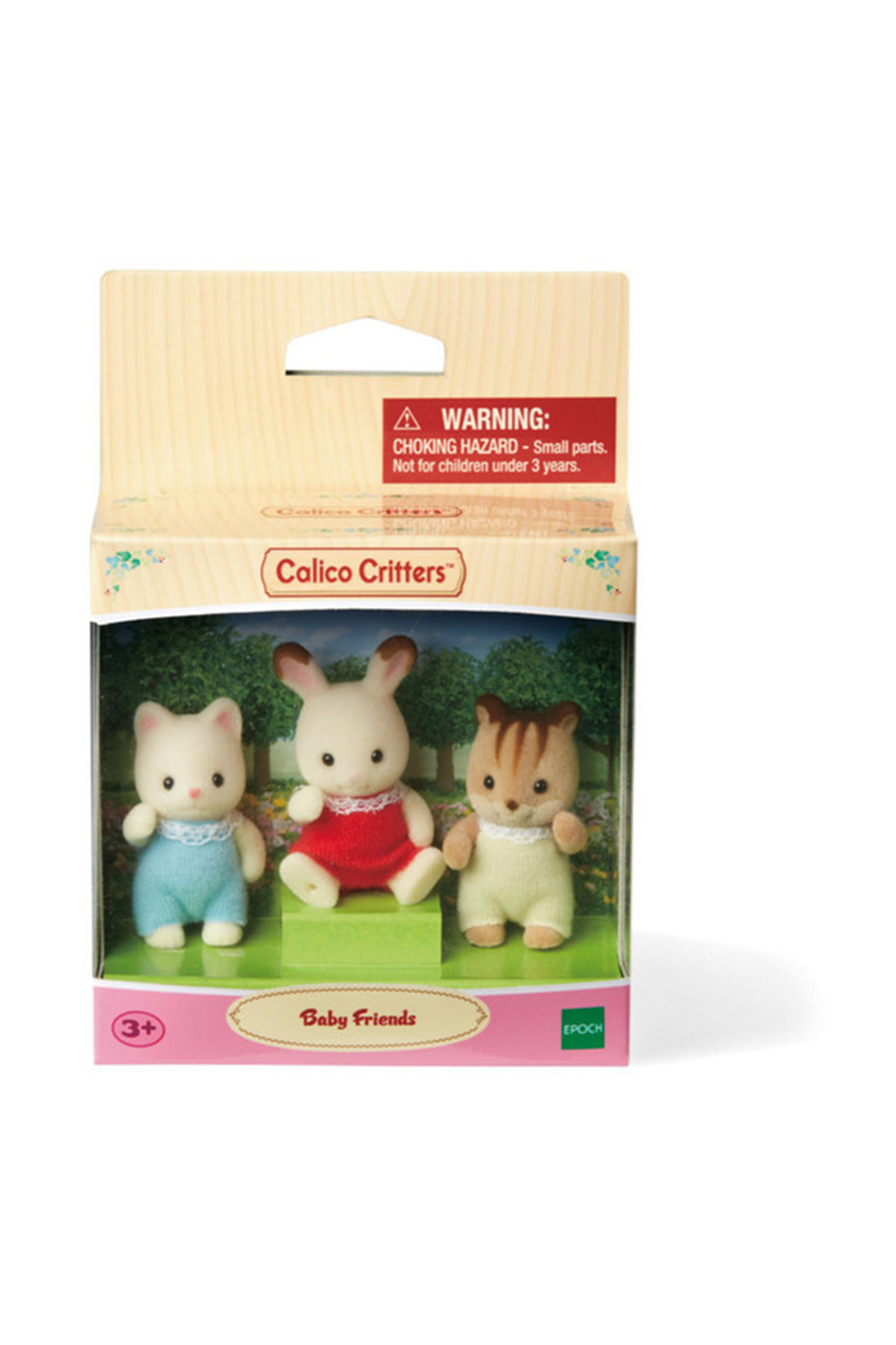 Calico Critters Baby Friends - Front Full Image
