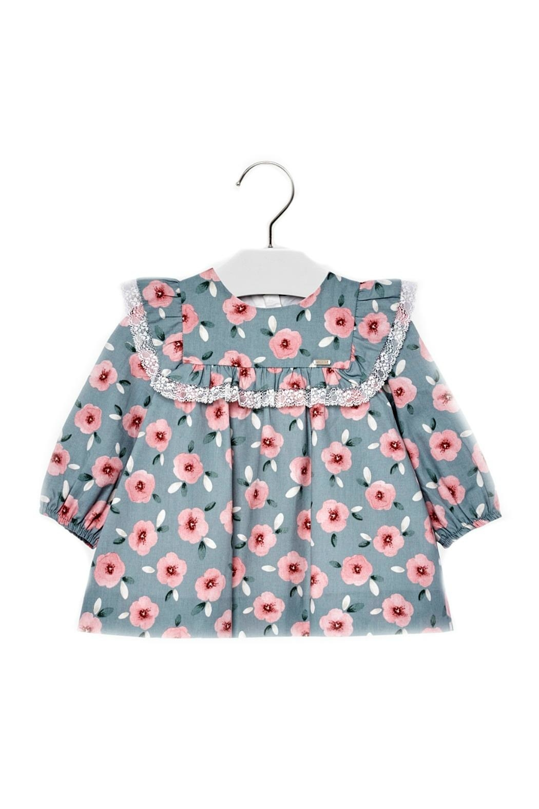 Mayoral Baby-Girl Floral-Pattern Dress - Main Image