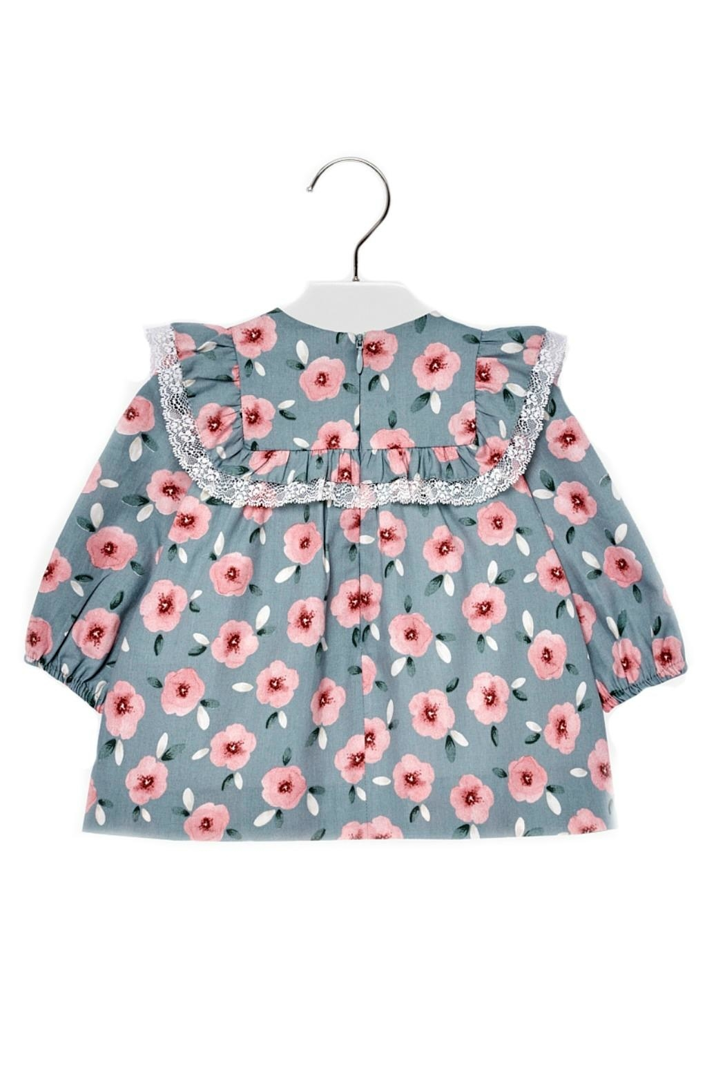 Mayoral Baby-Girl Floral-Pattern Dress - Front Full Image