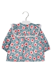 Mayoral Baby-Girl Floral-Pattern Dress - Front full body