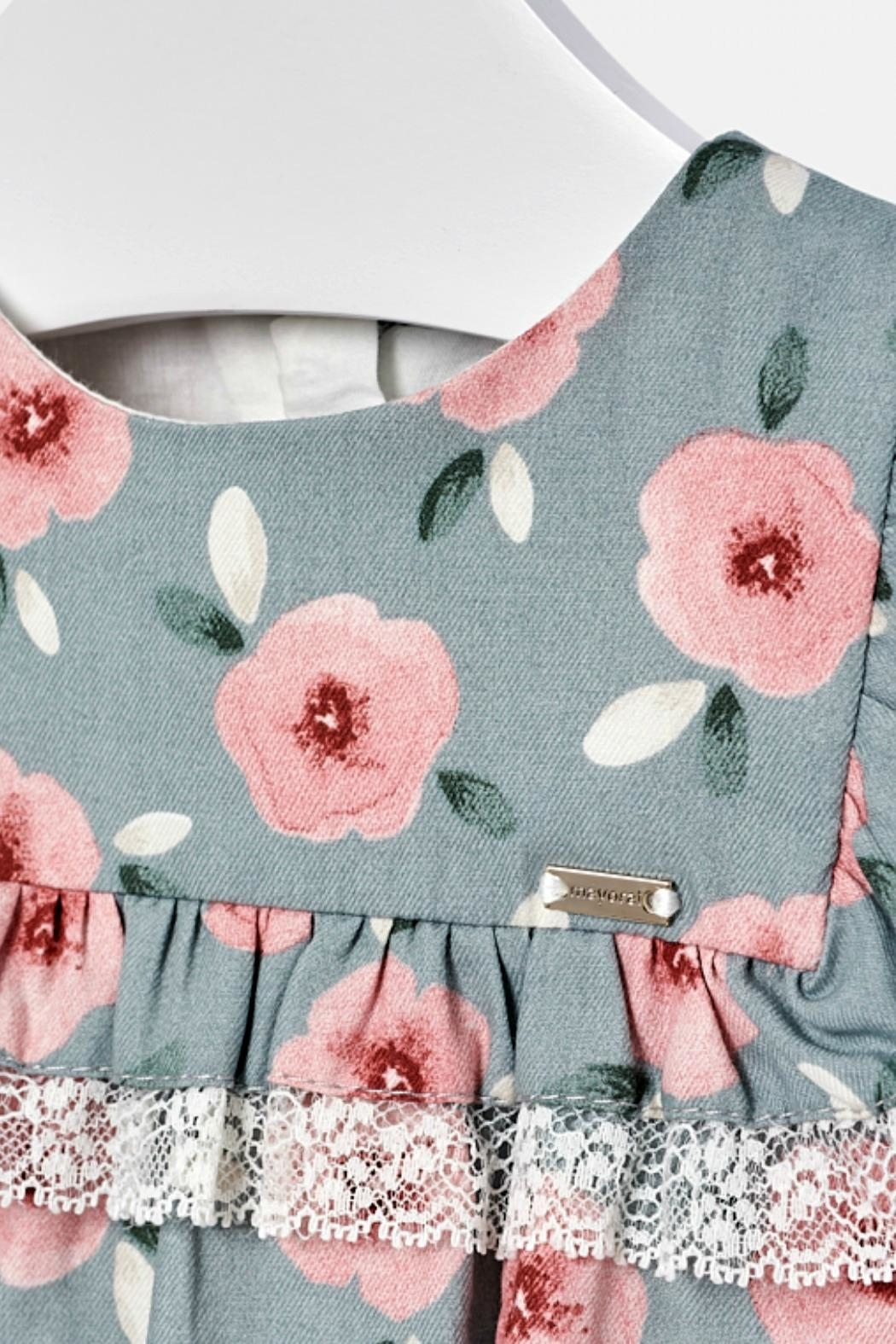 Mayoral Baby-Girl Floral-Pattern Dress - Side Cropped Image
