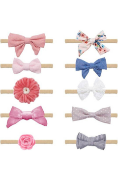 Shoptiques Product: Baby Girl Headbands and Bows For Girls