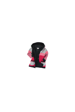 Catimini Baby Girl Jacket in Multicolored Jacquard - Alternate List Image