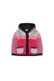 Catimini Baby Girl Jacket in Multicolored Jacquard - Product Mini Image