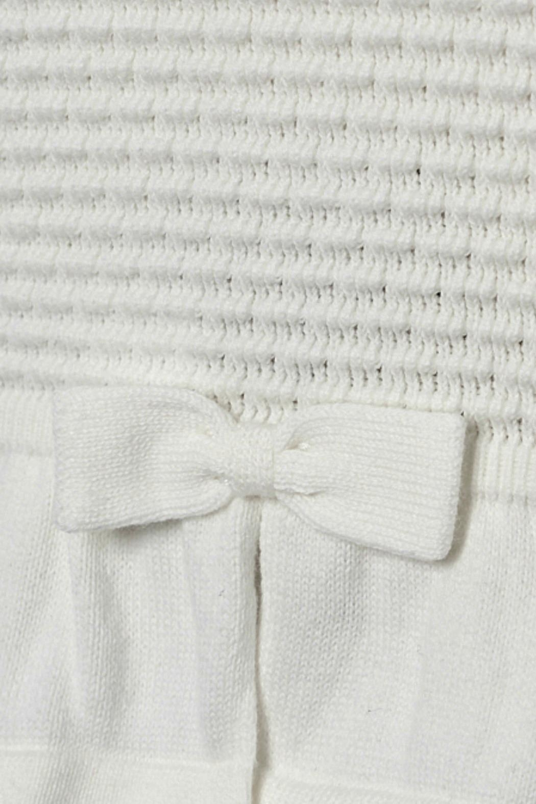 Mayoral Baby-Girl Knitted Off-White-Cardigan - Front Full Image