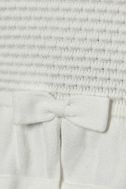 Mayoral Baby-Girl Knitted Off-White-Cardigan - Front full body