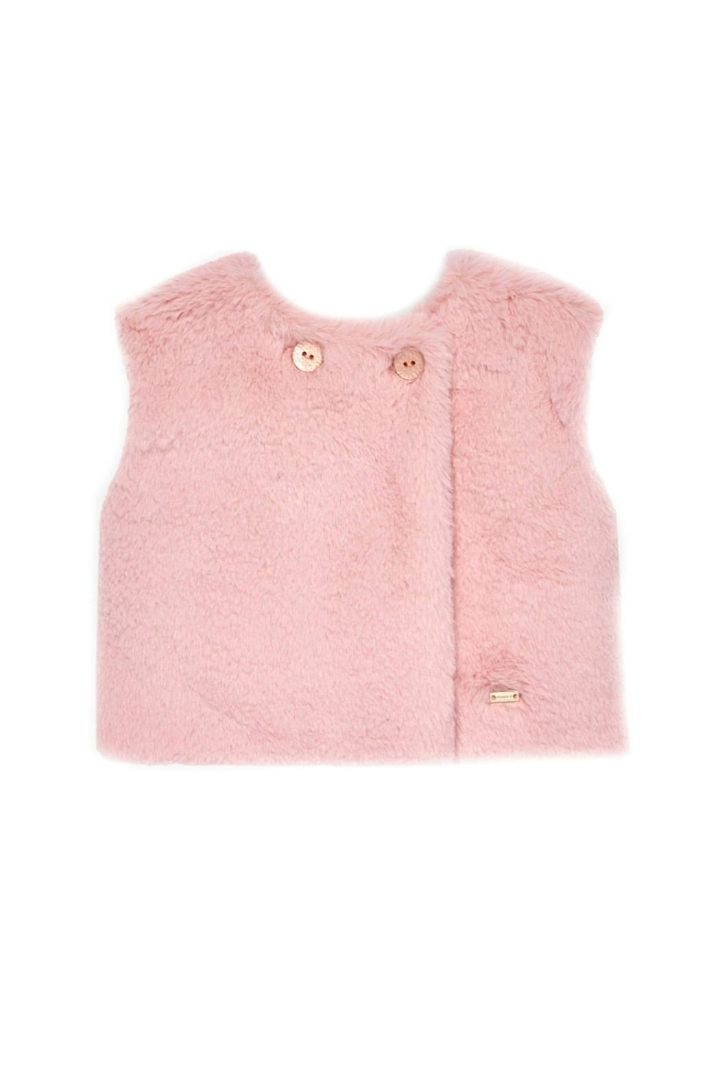 Mayoral Baby-Girl Pink Vest - Main Image