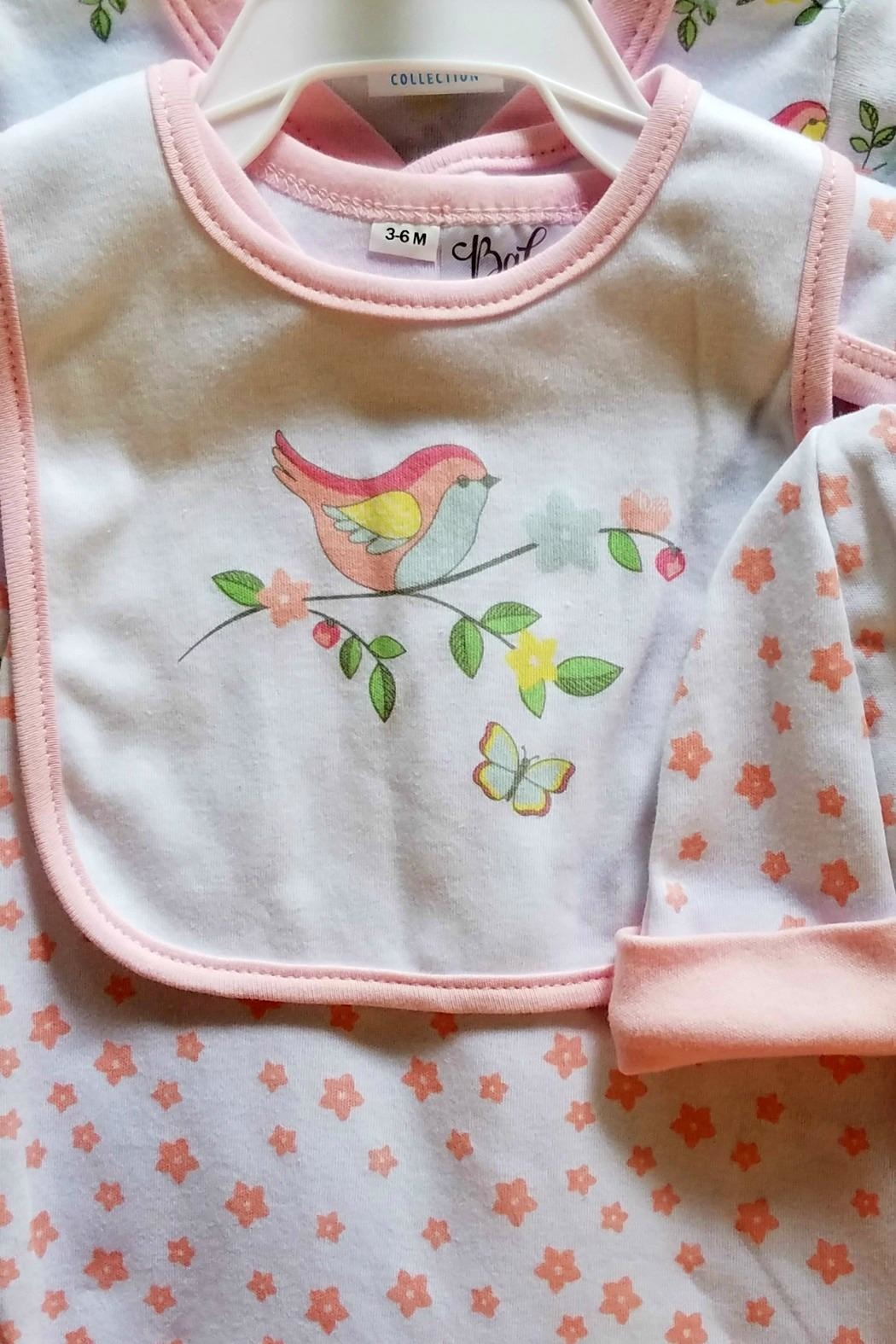Ganz Baby-Girl Pretty-Bird Layette-Set - Side Cropped Image