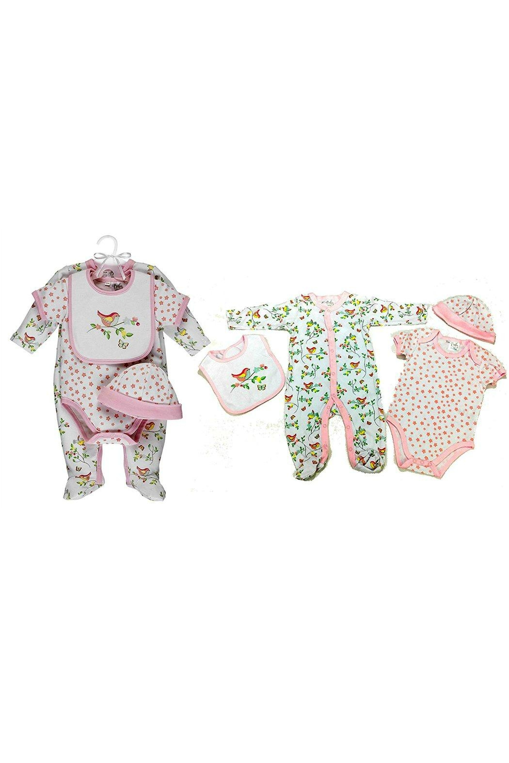 Ganz Baby-Girl Pretty-Bird Layette-Set - Front Cropped Image