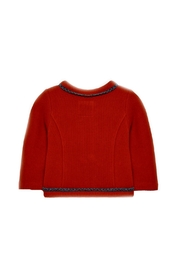 Mayoral Baby-Girl-Red-Zip-Up-Cardigan-Jacket - Front full body