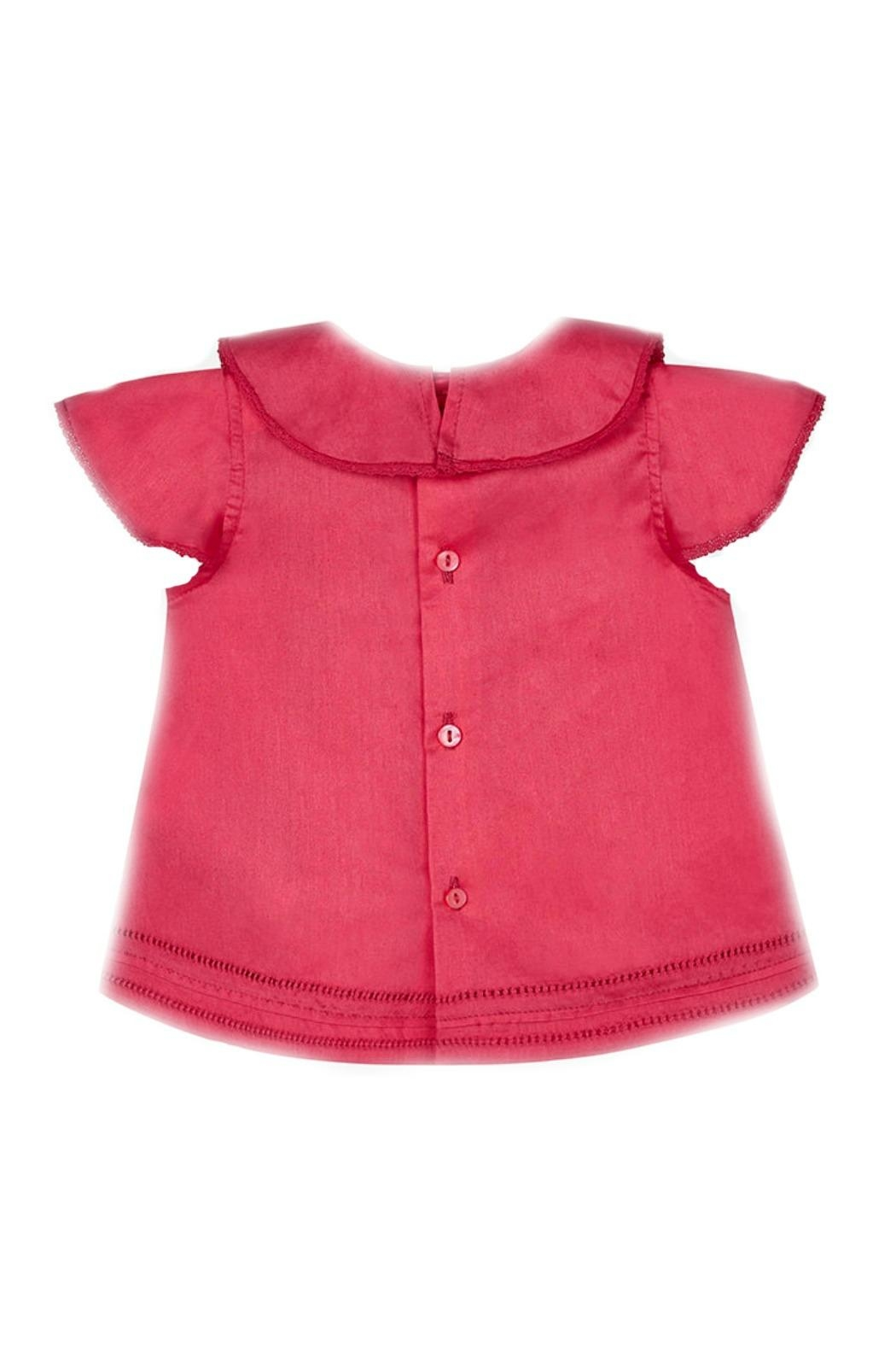 Mayoral Baby-Girl Ruffle-And-Embroidered Blouse - Front Full Image
