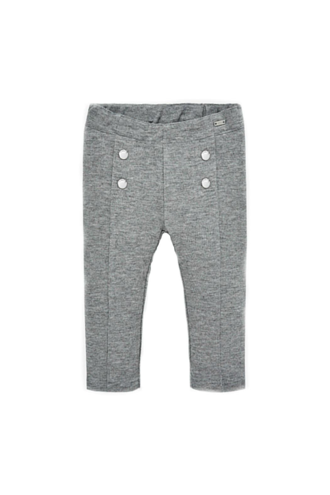Mayoral Baby-Girl Super-Skinny Grey-Jeggings - Main Image