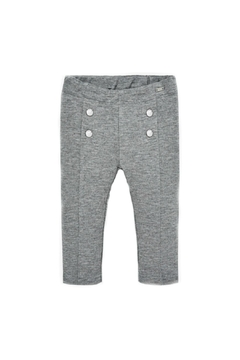 Shoptiques Product: Baby-Girl Super-Skinny Grey-Jeggings