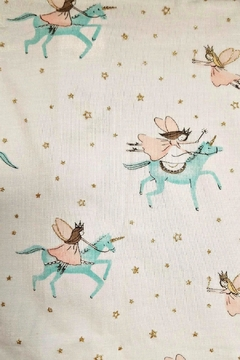 Mud Pie Baby-Girl-Unicorn-Convertible-Gown - Alternate List Image