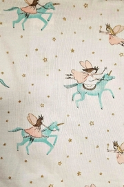 Mud Pie Baby-Girl-Unicorn-Convertible-Gown - Front full body
