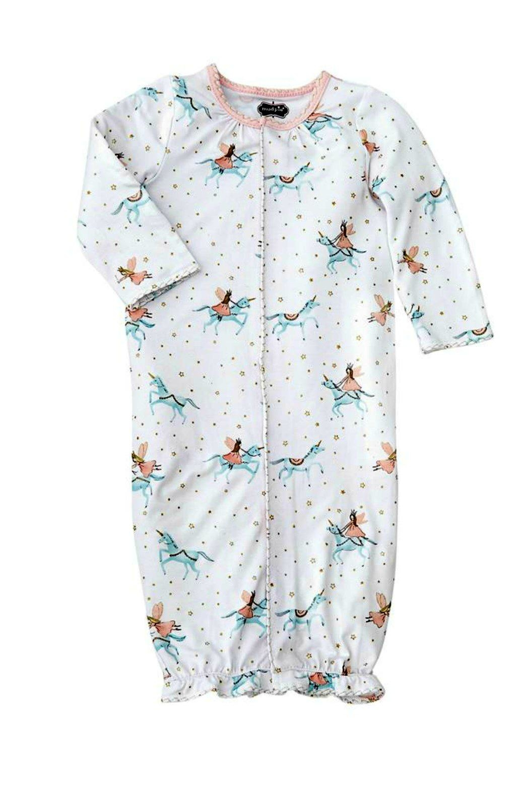 Mud Pie Baby Girl Unicorn Convertible Gown From South