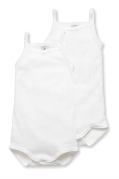 Shoptiques Product: Baby Girls' Bodysuits with Straps - 2-Piece Set