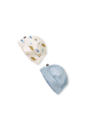 Tea Collection  Baby Hat Two Pack - Sea Life - Product Mini Image